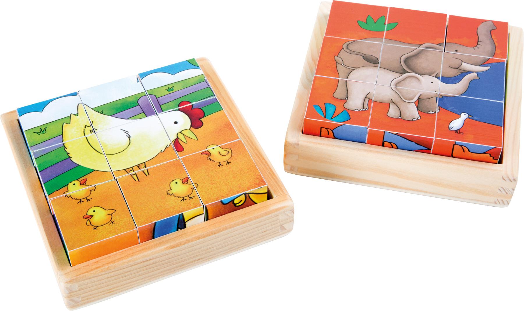 Puzzle cubes Ferme & Zoo