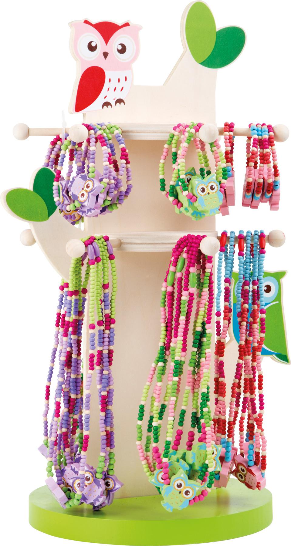 Display gioielli con civette gioielli per bambini cameretta dei bambini e accessori products - Accessori camerette bambini ...