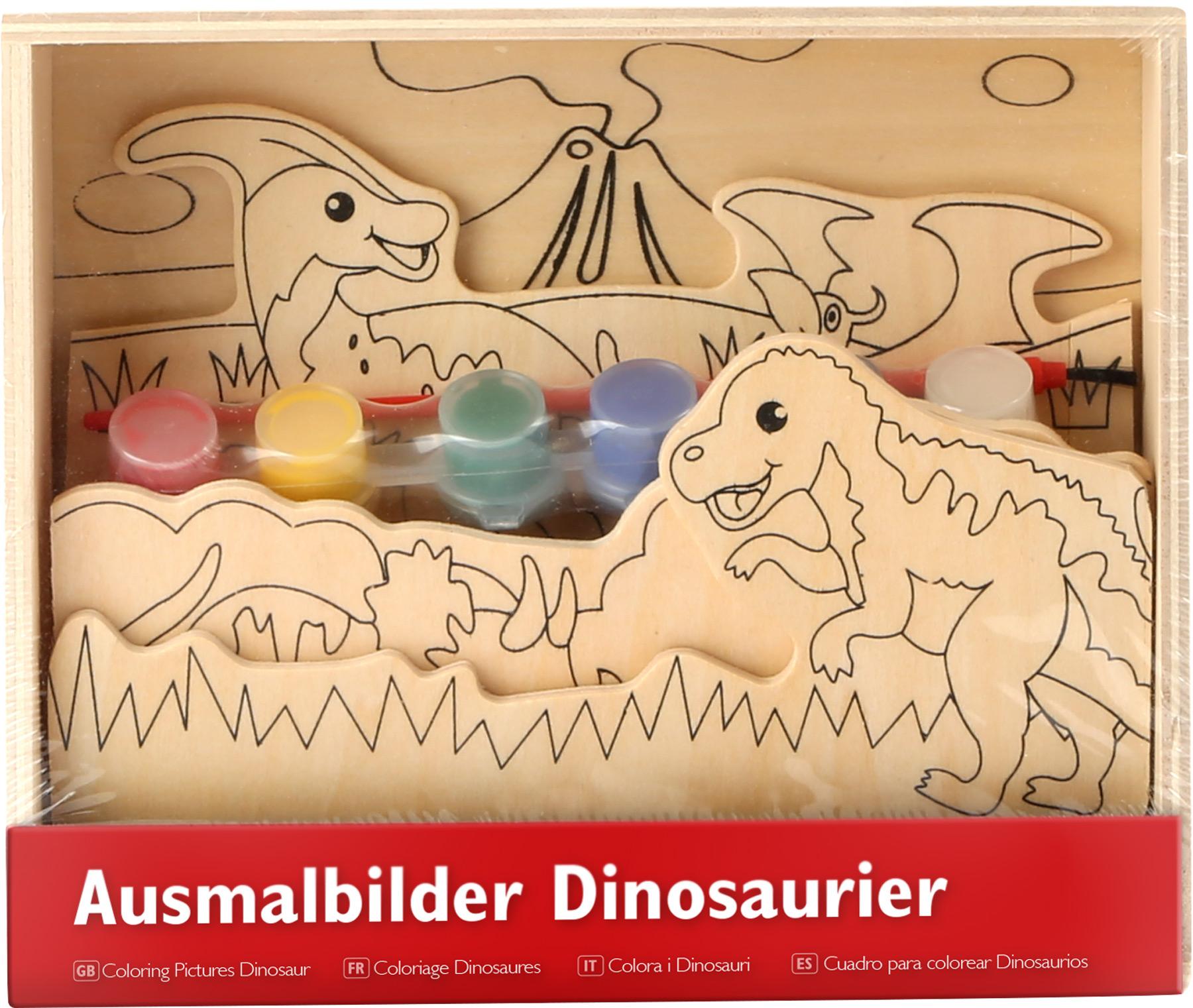 """Disegni In Legno Da Colorare """" Dinosauro"""""""