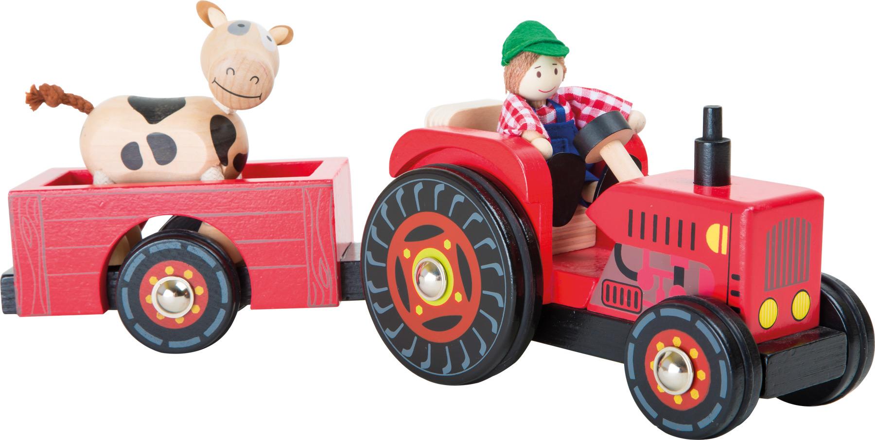traktor mit anh nger bauernhof spielwelten fahrzeuge und spielwelten produkte. Black Bedroom Furniture Sets. Home Design Ideas
