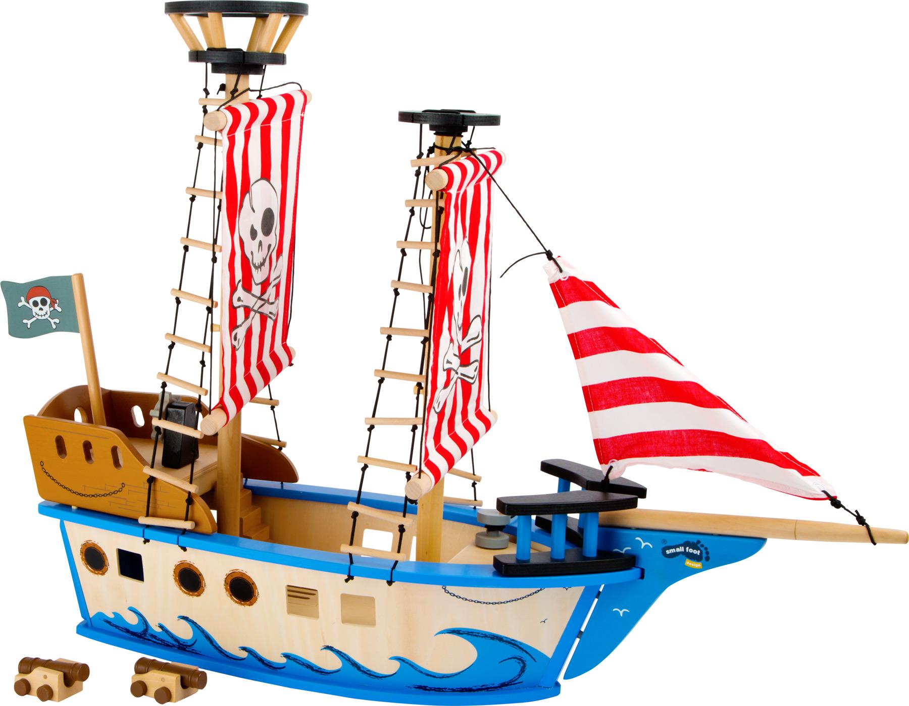 Bateau de pirates Jack