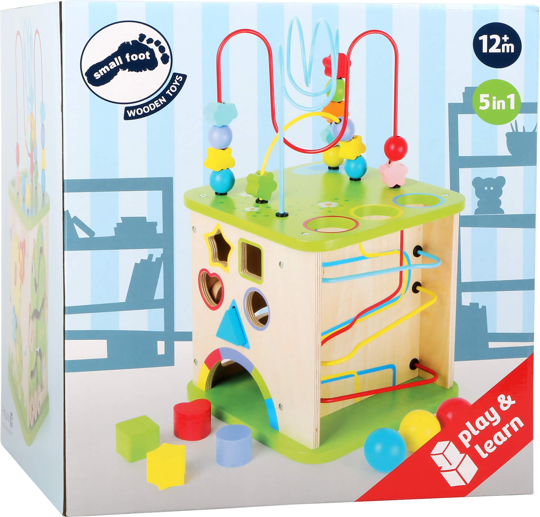 Motor Skills World with Marble Run Wooden toys Other theme