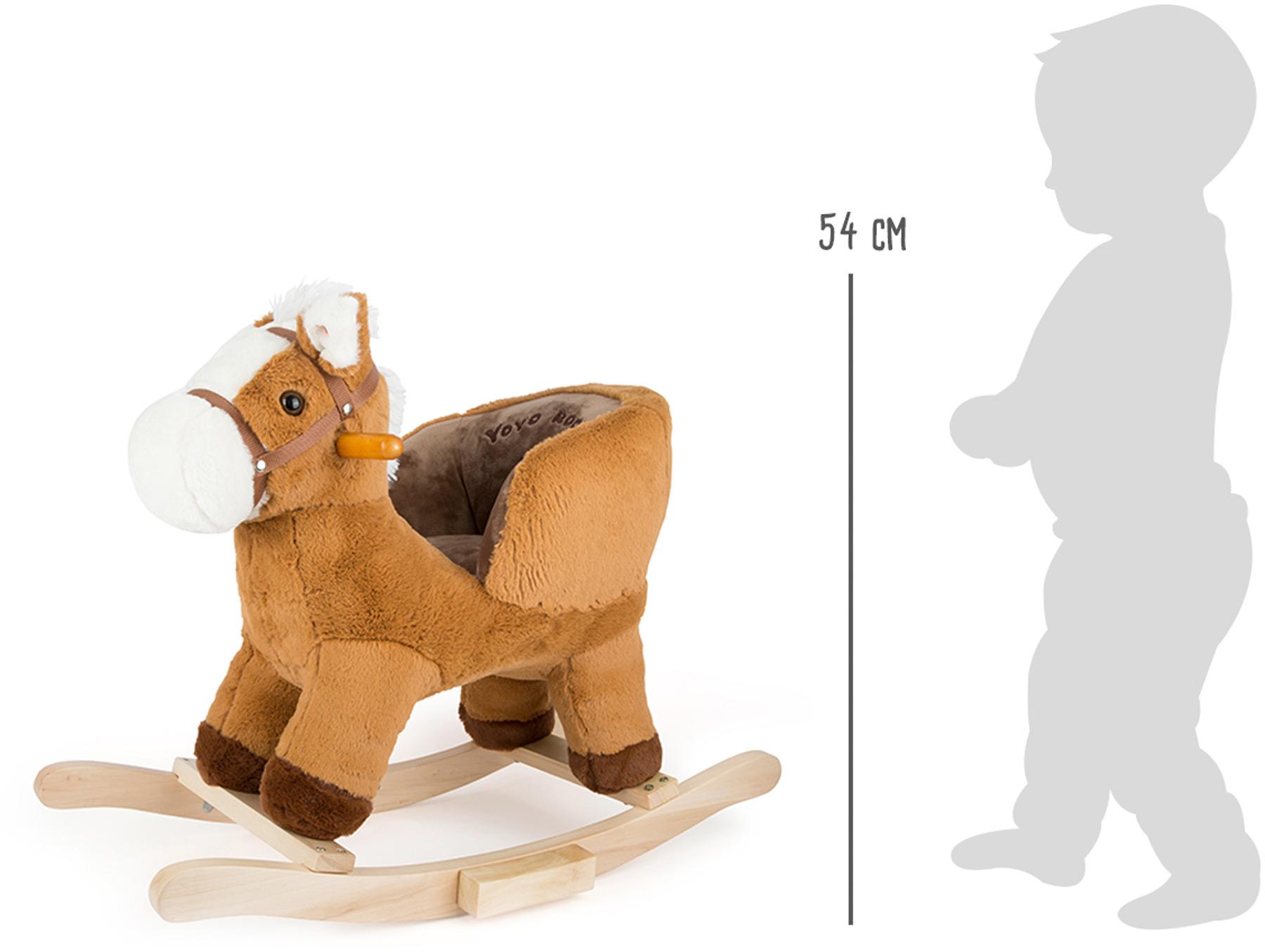 cheval bascule avec si ge. Black Bedroom Furniture Sets. Home Design Ideas
