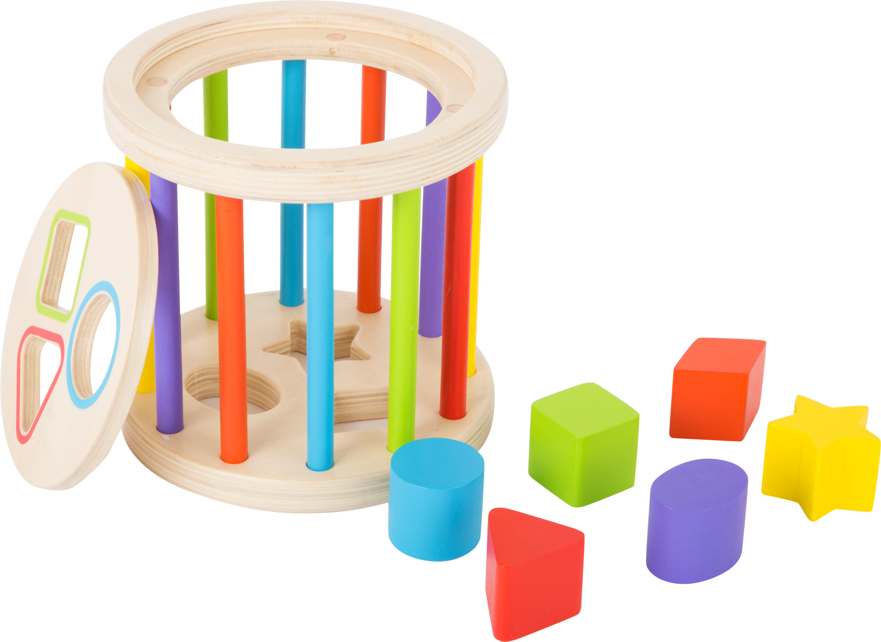 Colours and Shapes Motor Skills Toy Shape Fitting Games Toys
