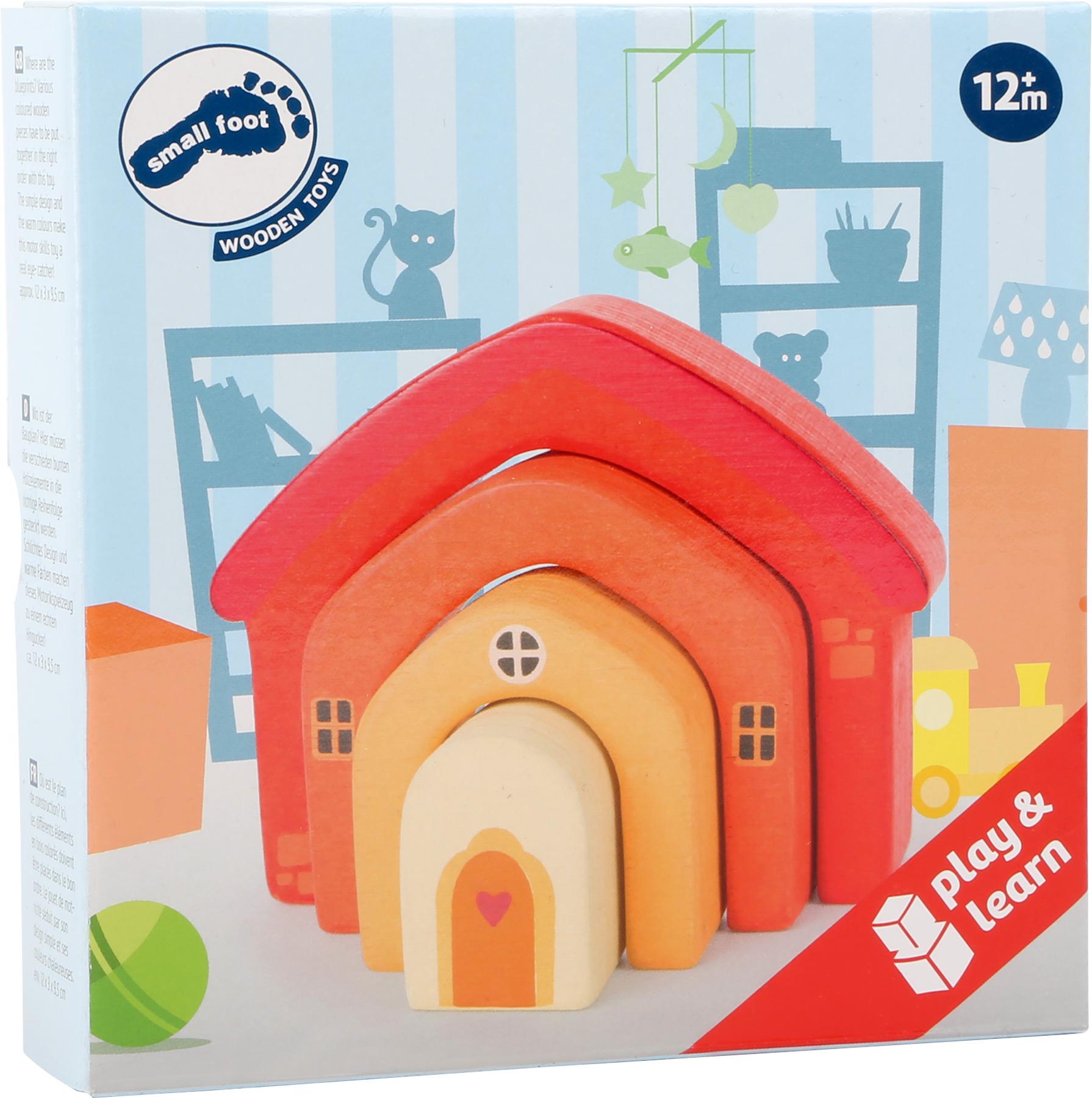 Elementi da costruzione in legno casa giocattoli di for Sito web di costruzione di case