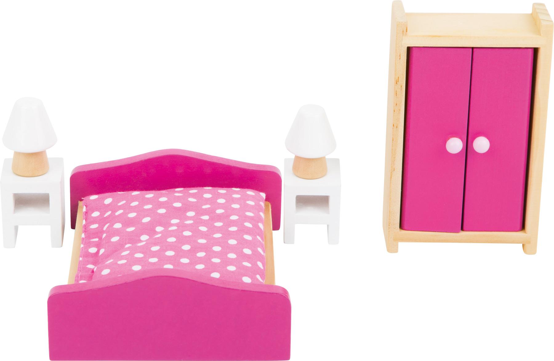 Mobili Per Casa Delle Bambole : Mobili per la casa delle bambole camera da letto