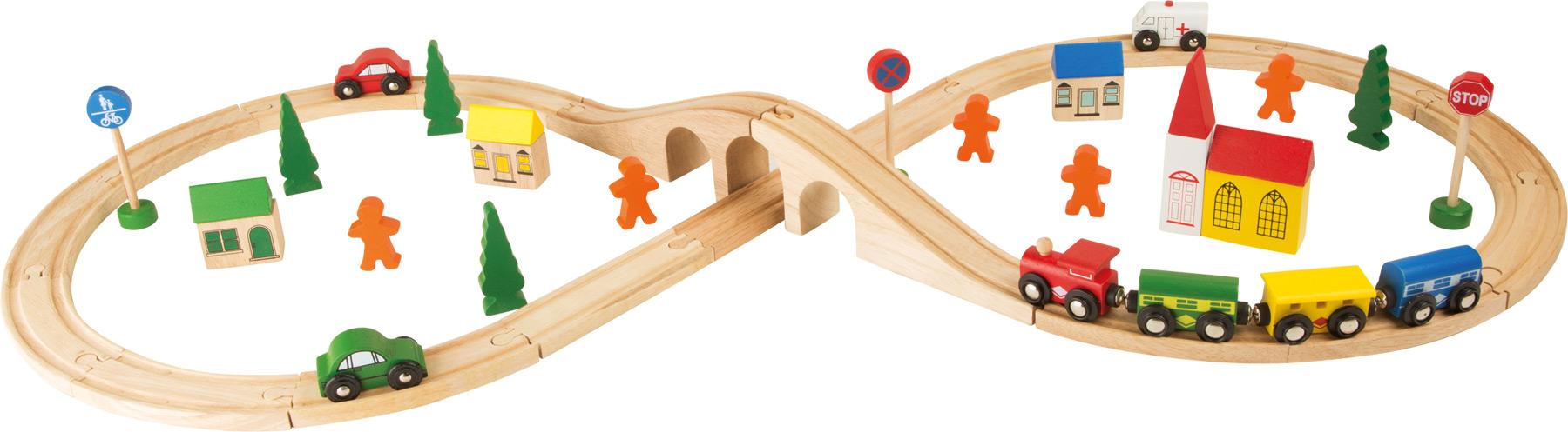 Chemin de fer En huit