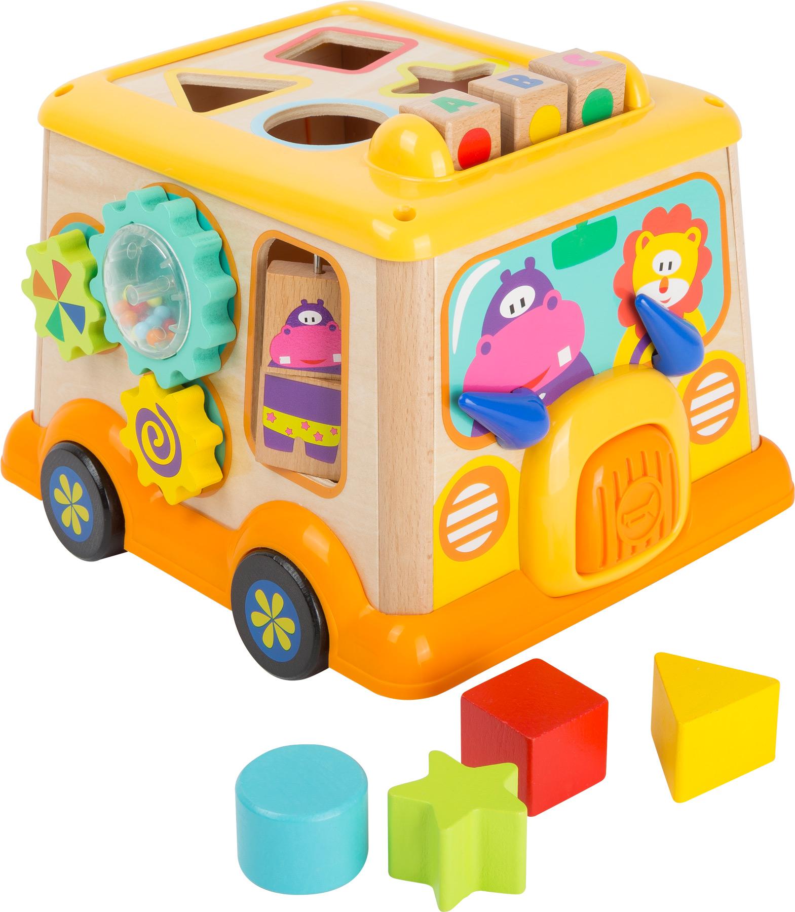 School Bus Motor Skills Toy