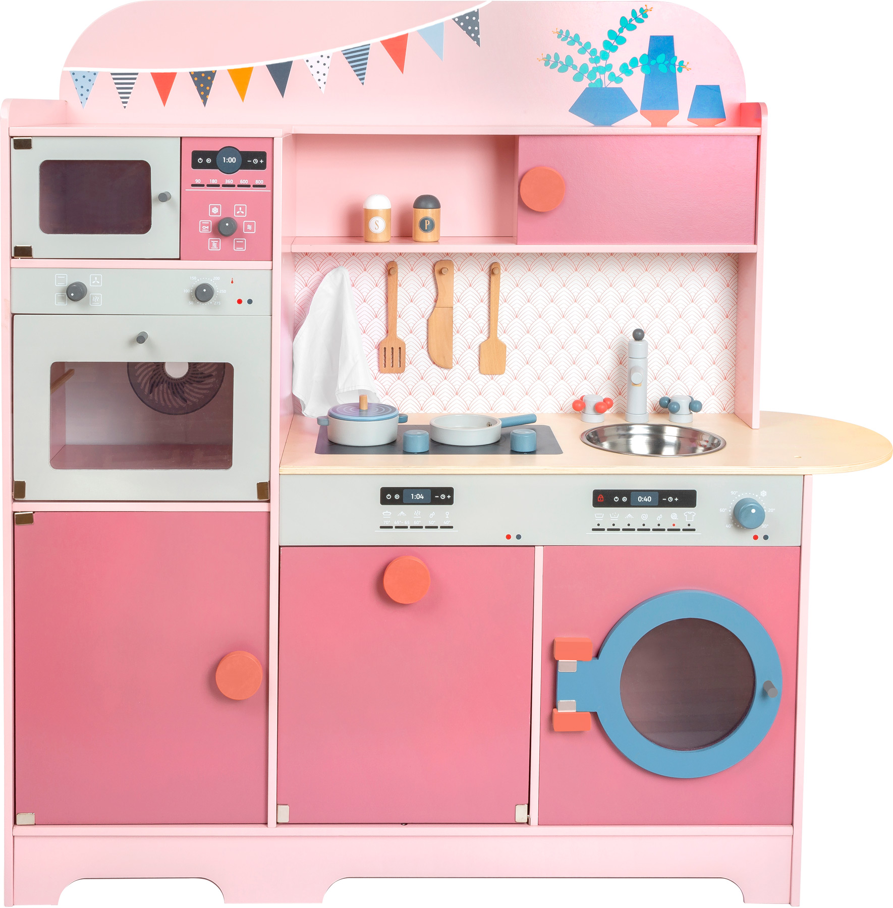 Children\'s Play Kitchen Gourmet Pink