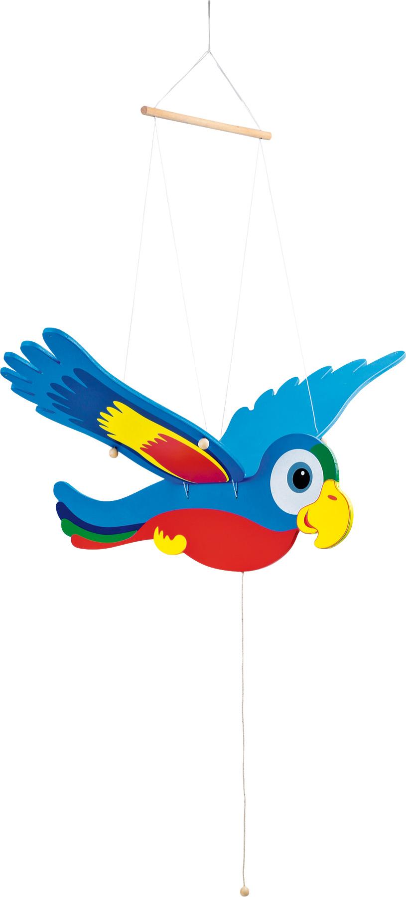 Perroquet danseur, coloré