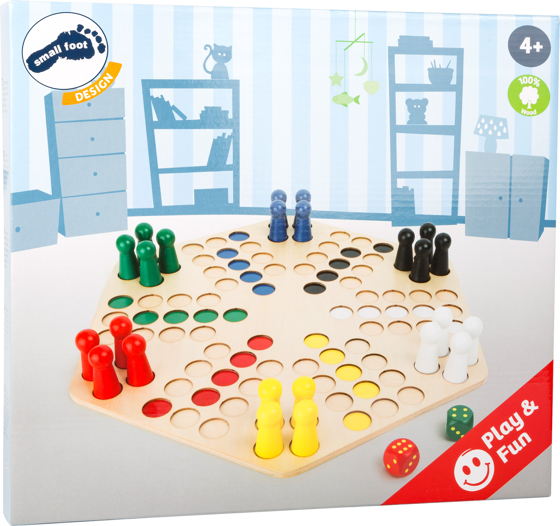 Ludo for 6 Players