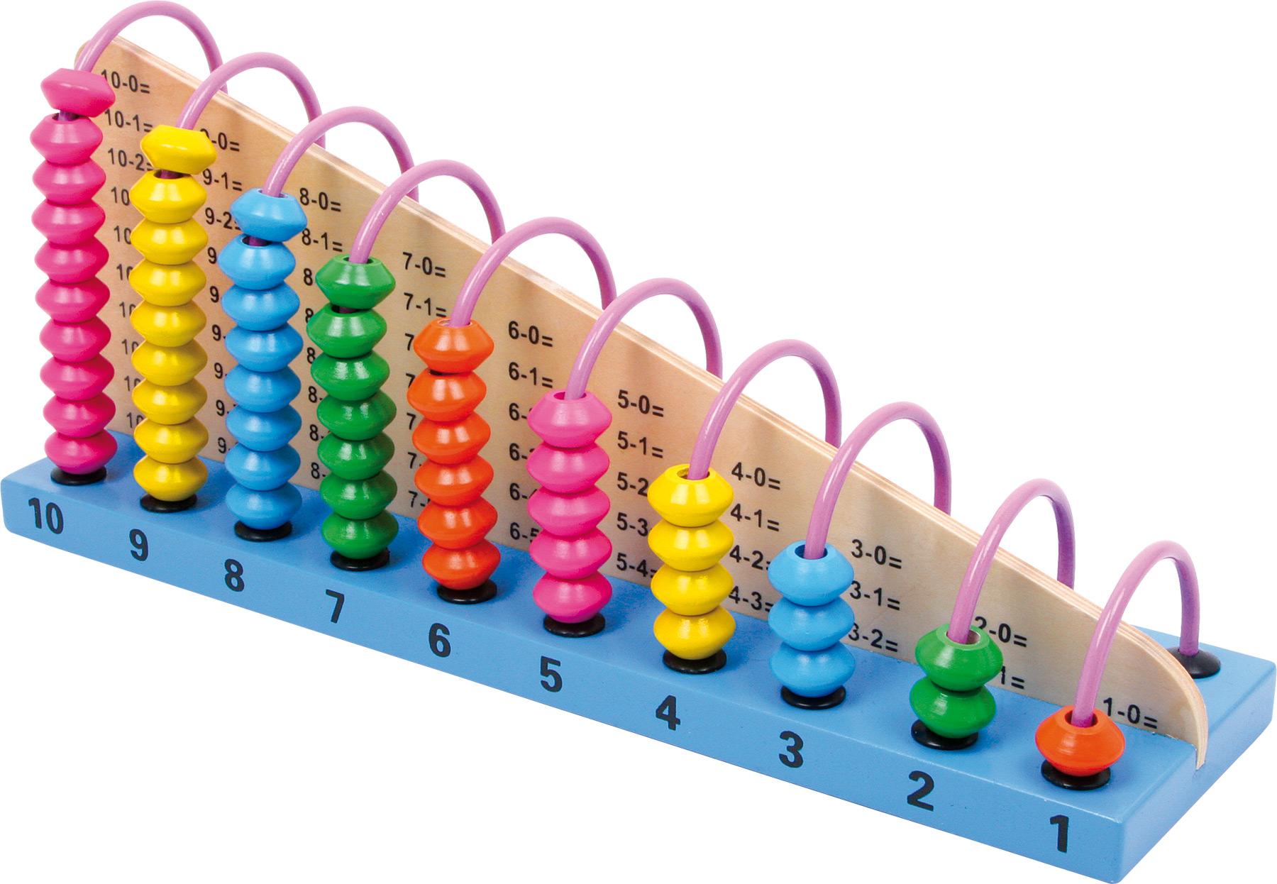 Small Foot Bambini Giocattolo Educativo In Legno Abacus Giocattolo in legno gioco scuola matematica contare