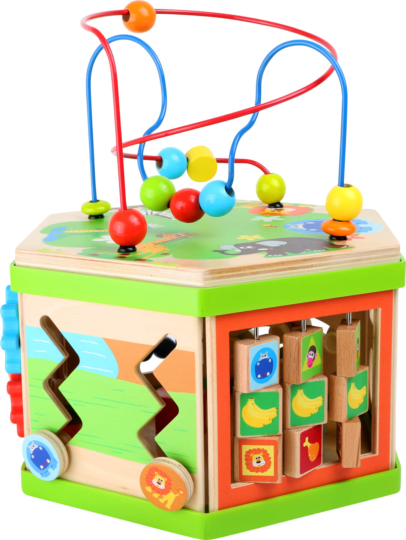 Safari Motor Skills Training Cube