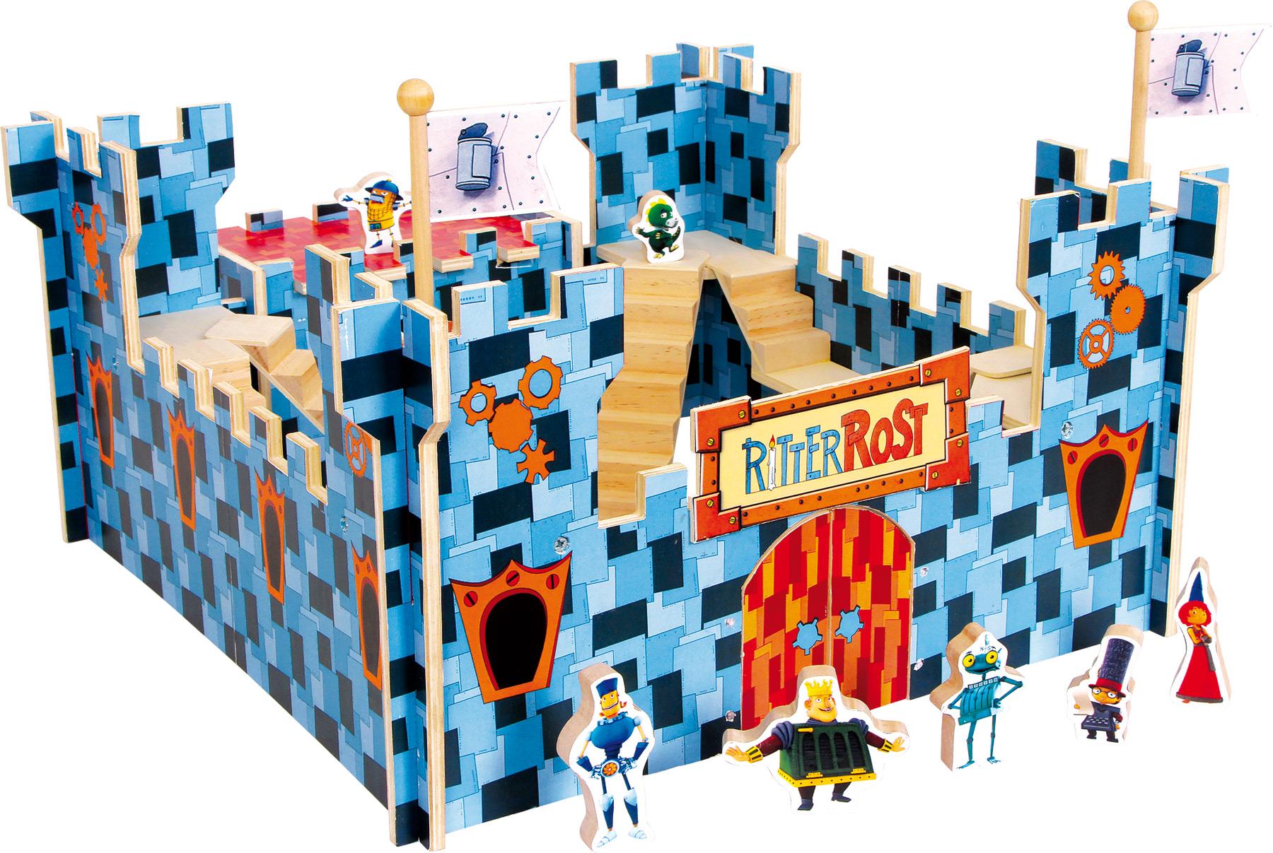 Château-fort Ritter Rost Le Chevalier Rouillé