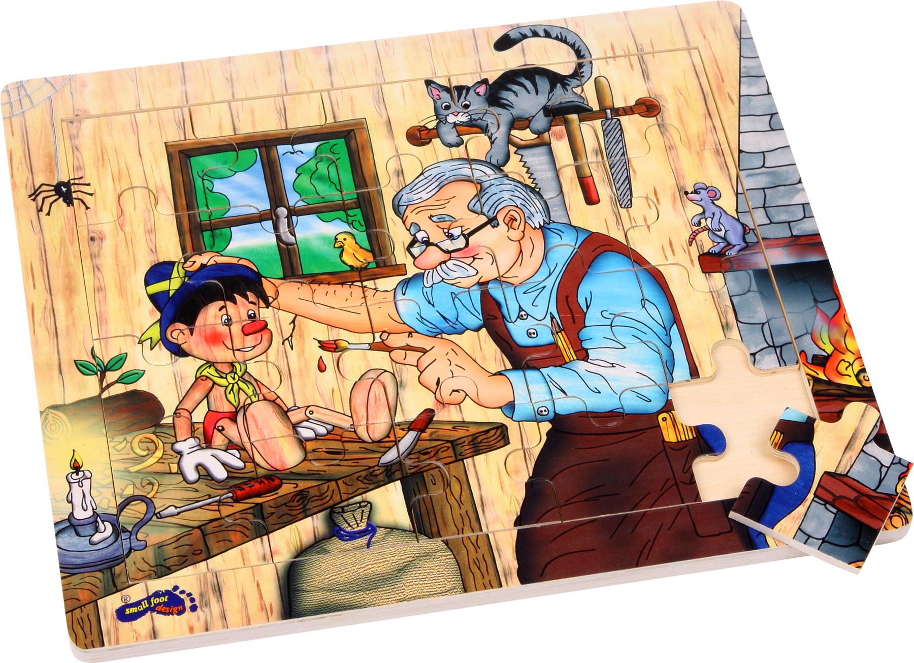 Puzzle cadre L´atelier de Geppetto