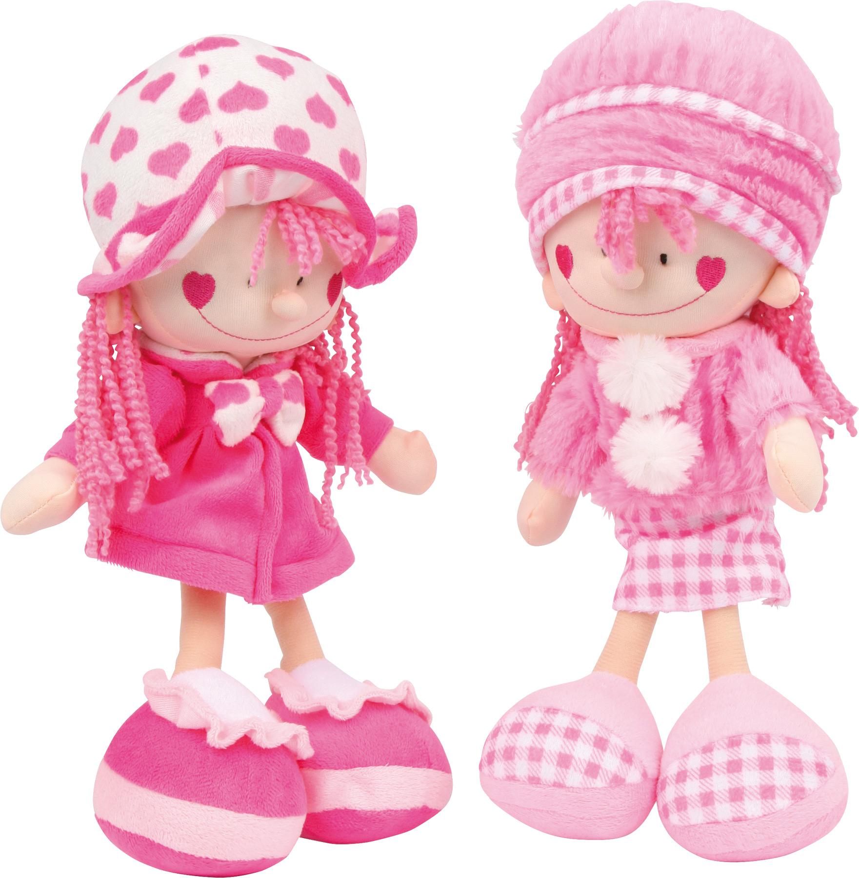 Poupées Nora et Emilie
