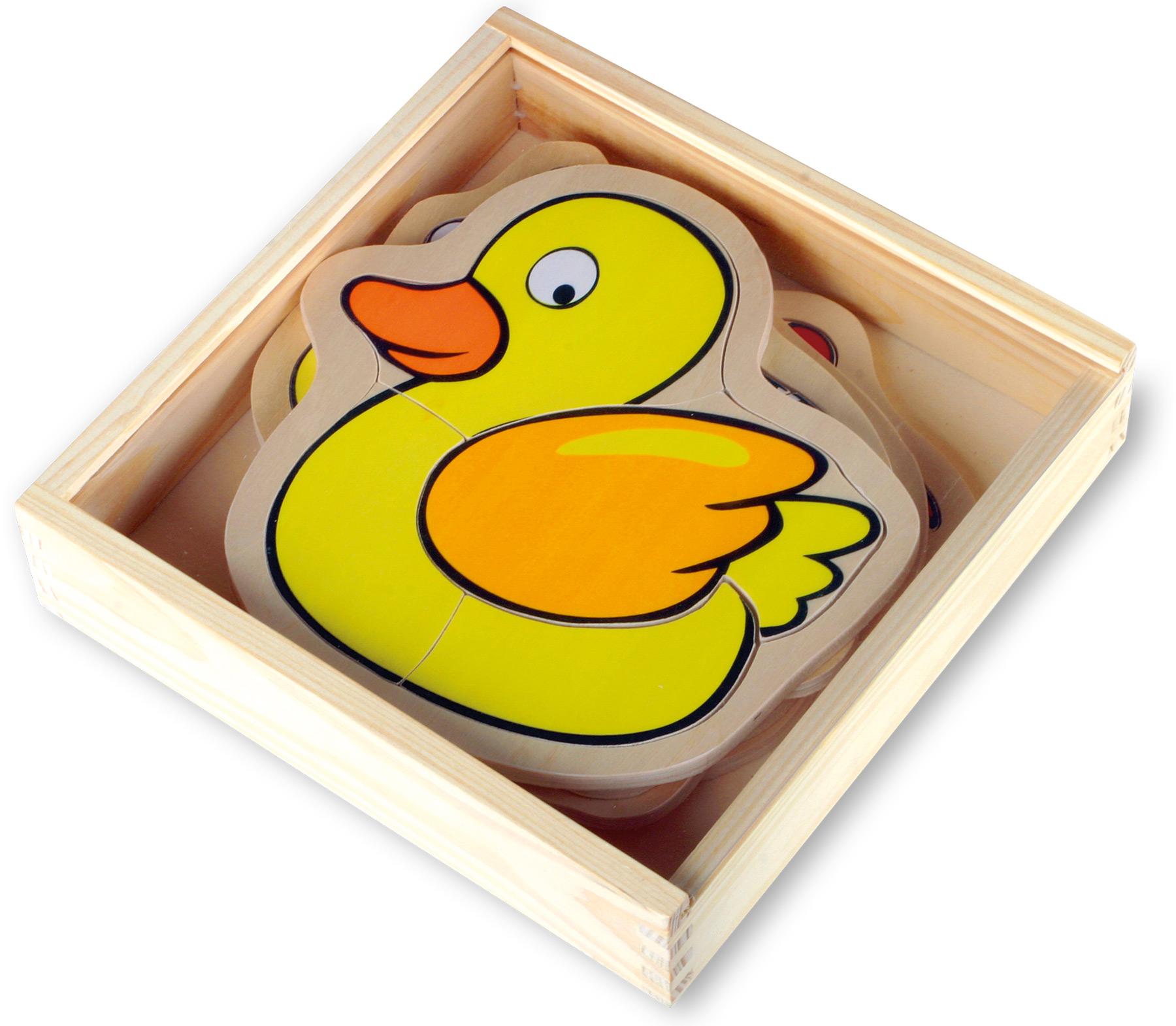 Puzzle boîte ferme