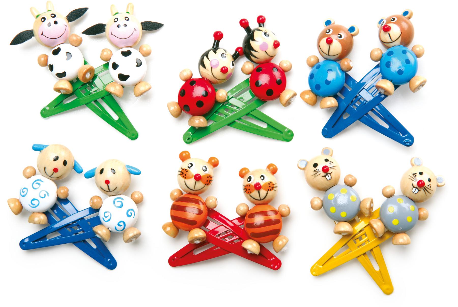 Fermagli per capelli animali gioielli per bambini cameretta dei bambini e accessori products - Accessori camerette bambini ...