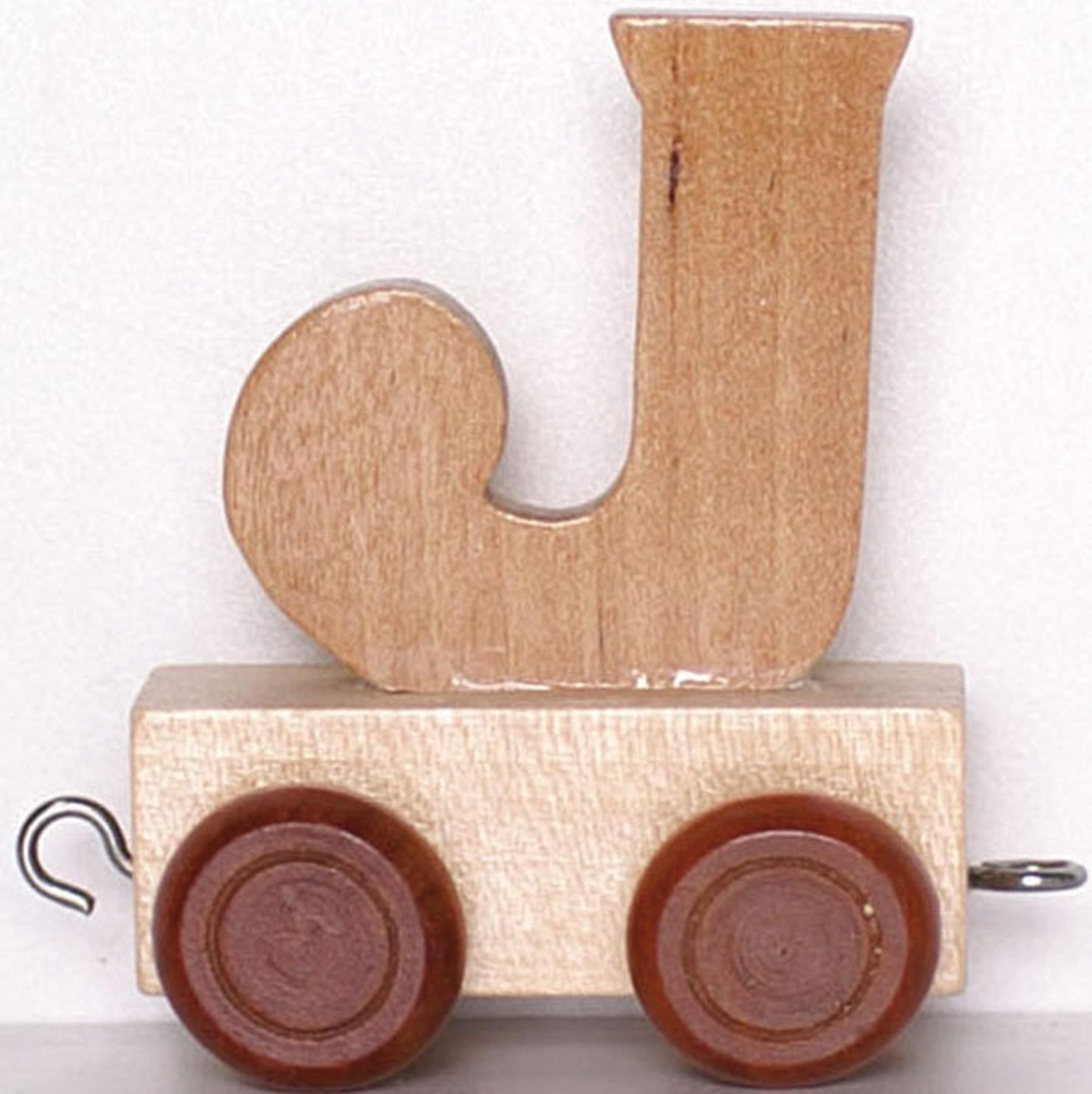 Train Lettre J