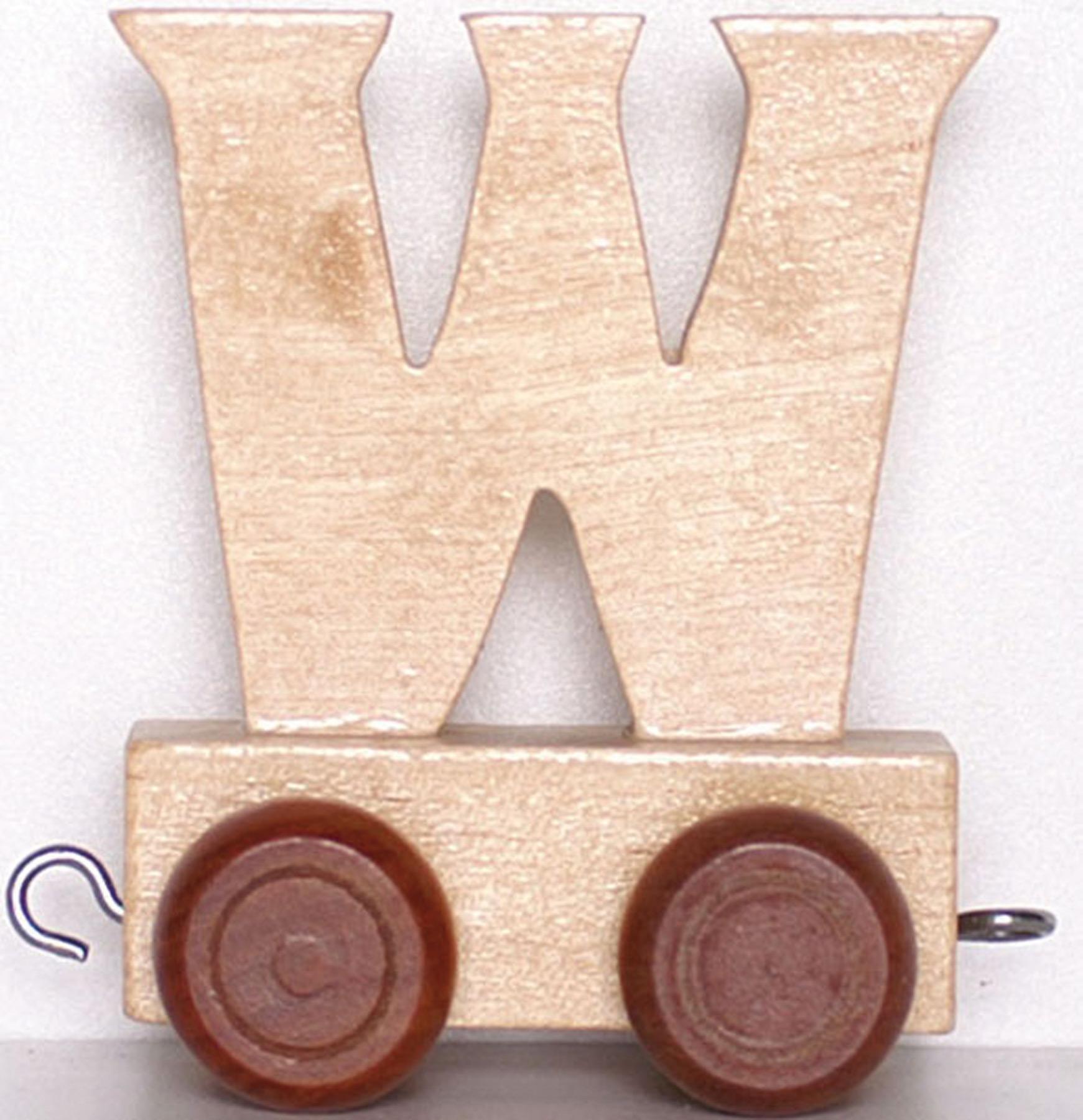 Train Lettre W