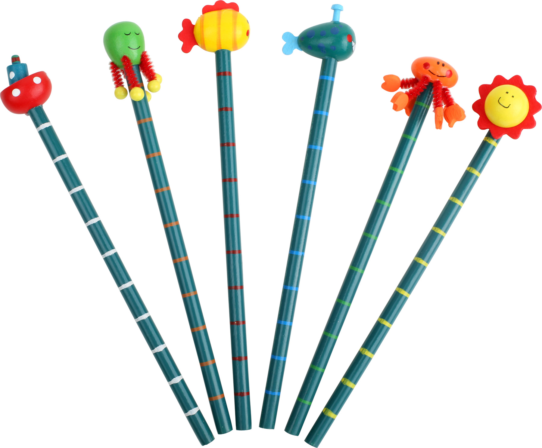 Crayons à papier  Amis de la mer