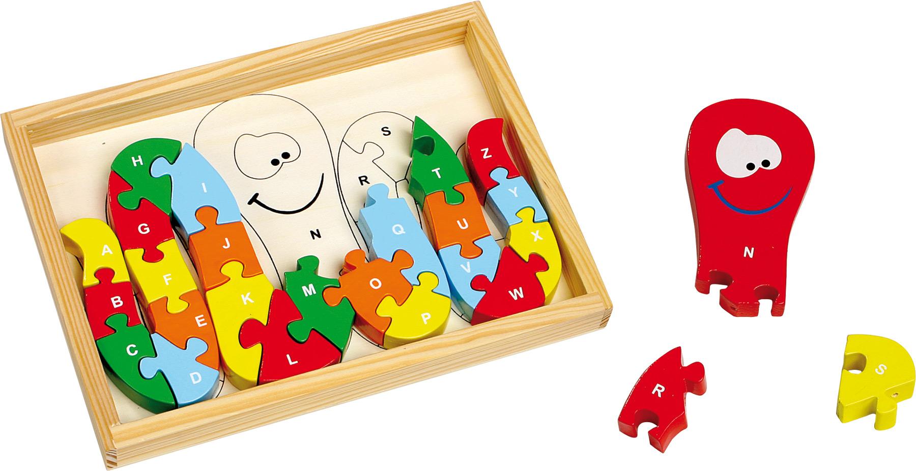 Puzzle ABC pieuvre