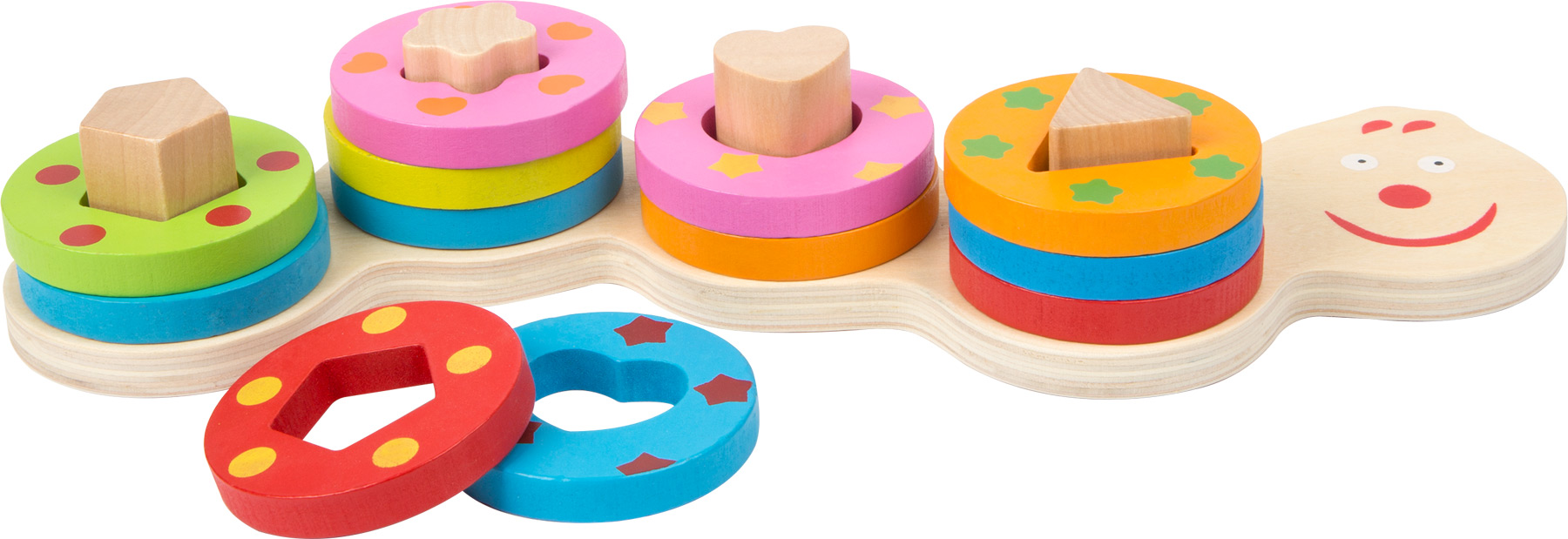 Legler small foot design Steckpuzzle Formen
