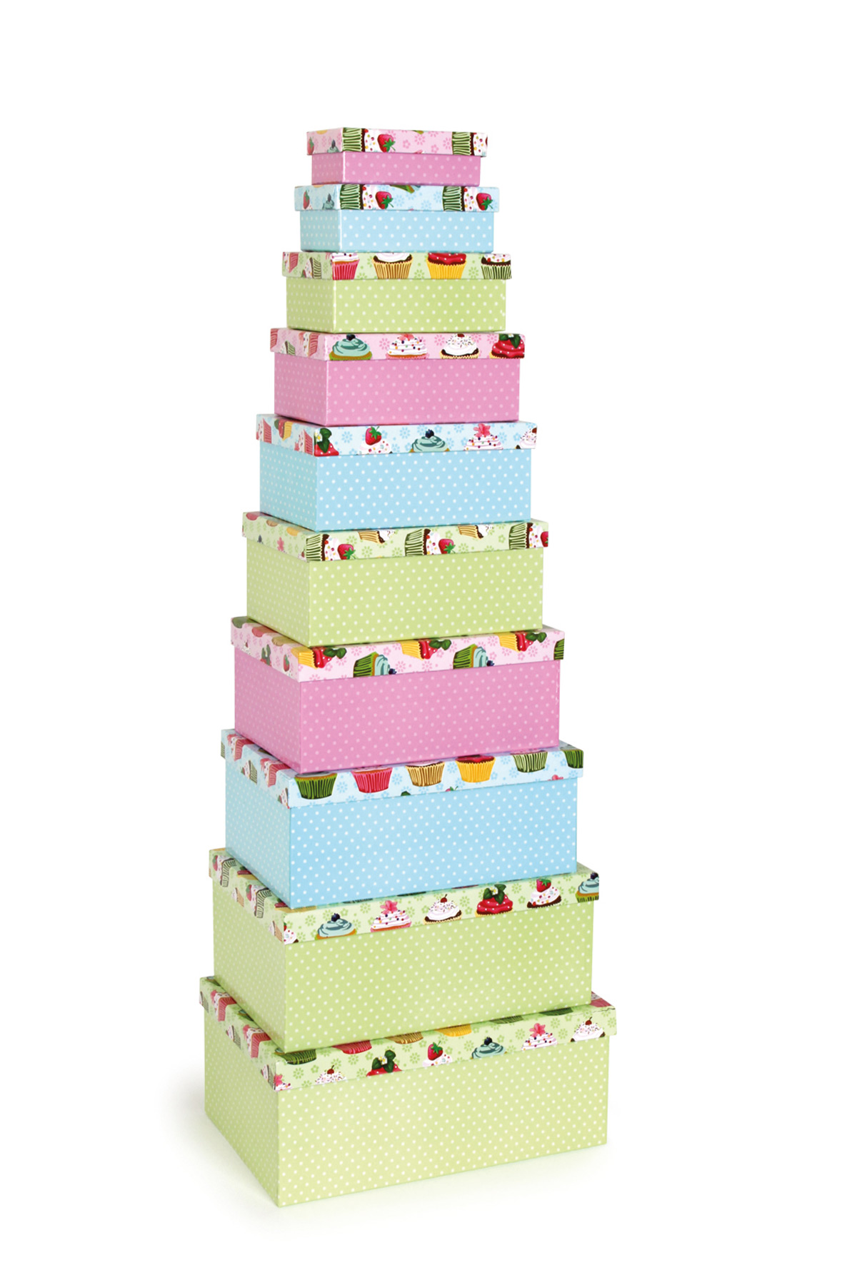 Boîte pour cadeaux Cupcakes