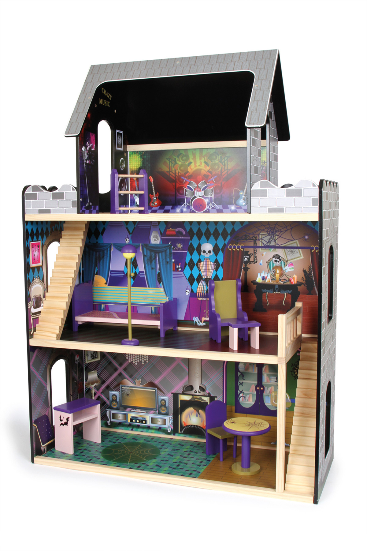 Maison de poupée Monstre