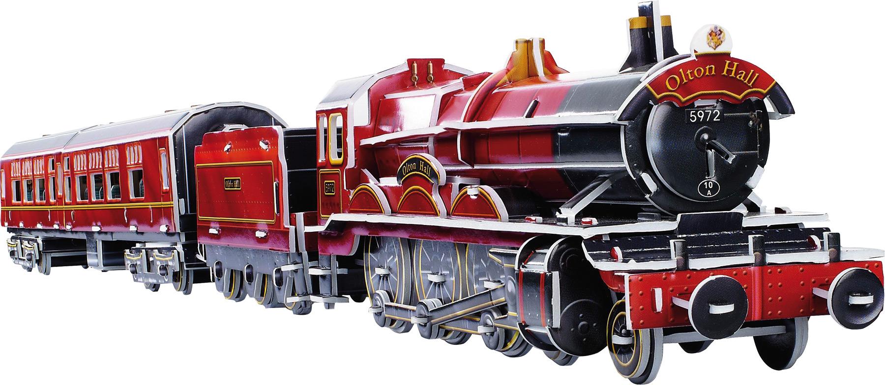 Puzzle 3D Train