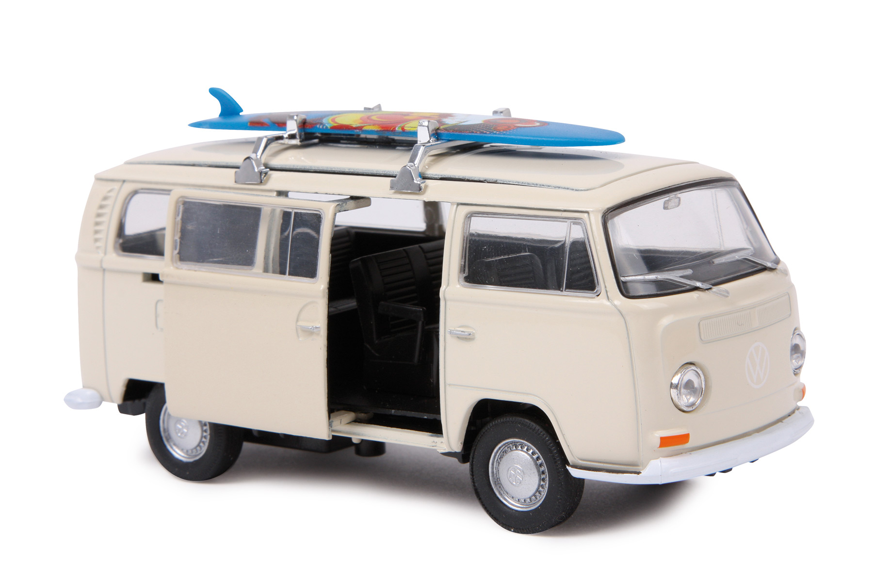 modellauto vw bus t2 surfbrett modellautos. Black Bedroom Furniture Sets. Home Design Ideas