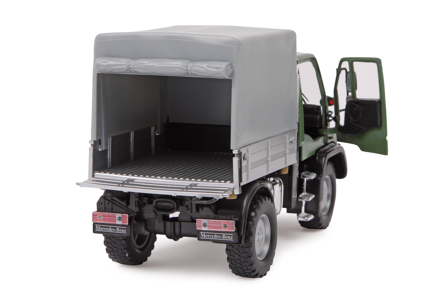 Model car mercedes benz unimog u400 for Mercedes benz truck models