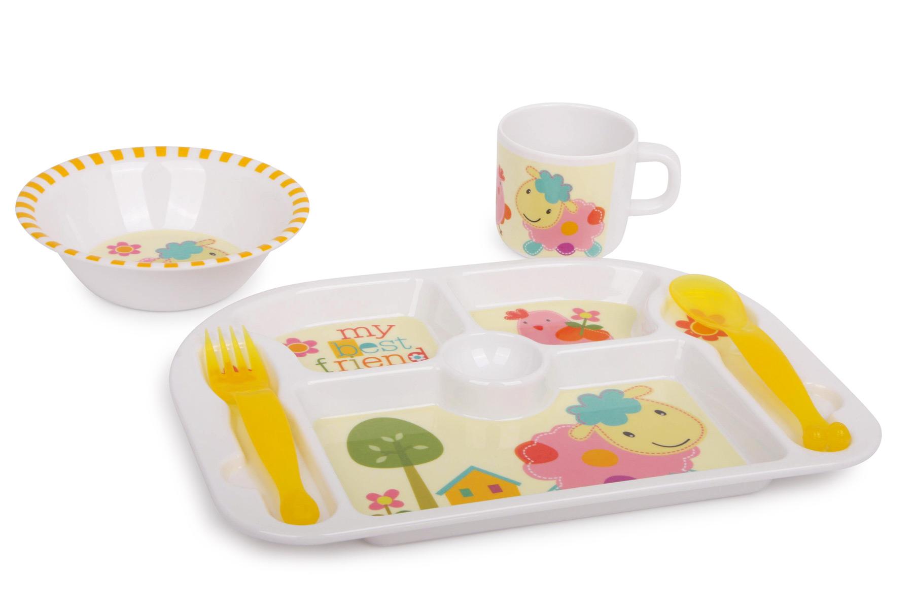 Vaisselle pour enfant  Meilleurs amis