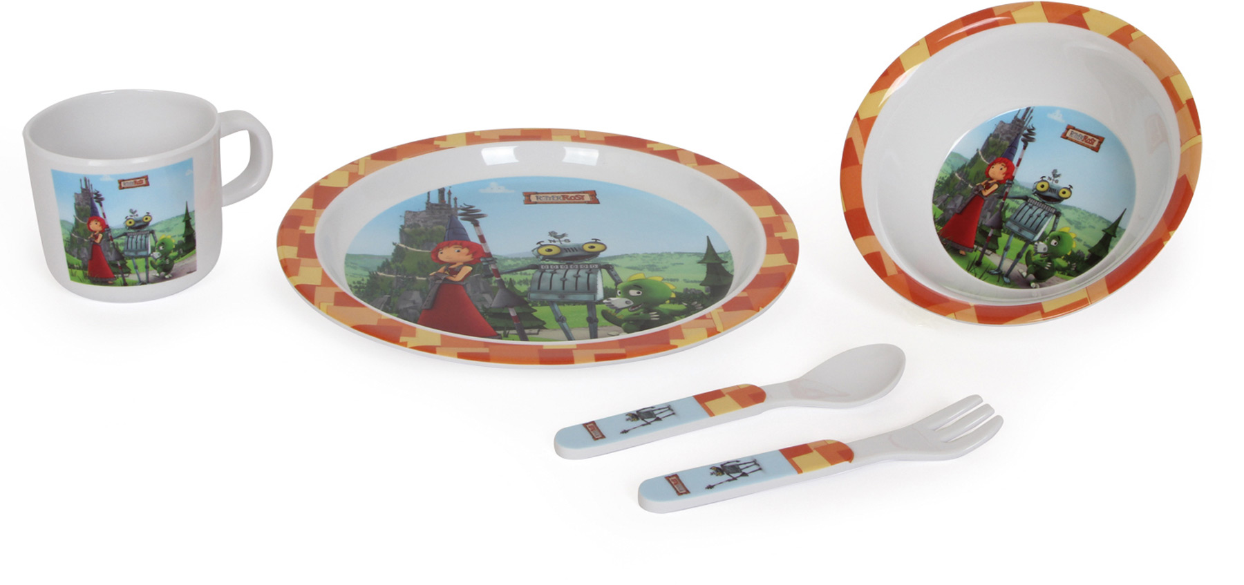 Vaisselle pour enfant Ritter Rost